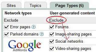 Google Adwords Advertisers Options